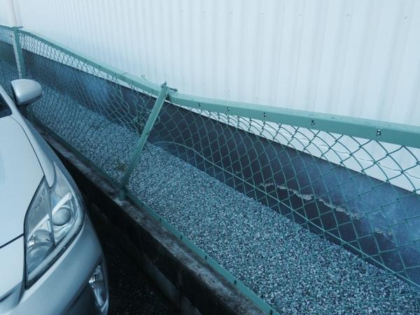 先日はI社様のフェンス修理をさせていただきました。